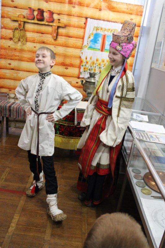 Музейный урок «Загадки бабушкиного сундука»